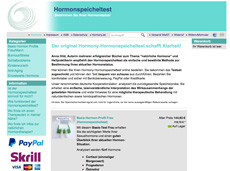 Screenshot speichelhormontest